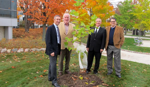 Hippocrates Sycamore Planting at UofM