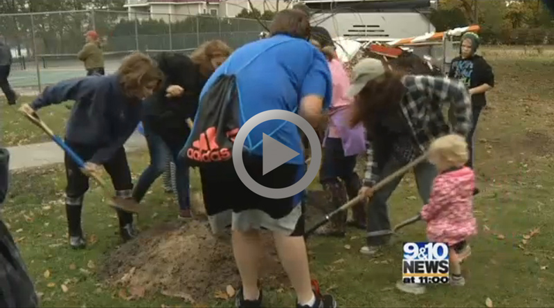 9&10 News Story about Replant TC